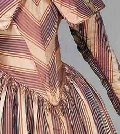 Dress, Visiting, 1845-50, details