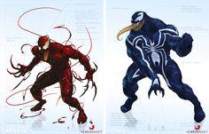 Carnage / Venom Redesign
