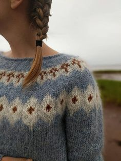 RESERVED for Ashlee Icelandic Sweater / Lopapeysa Hand Knit