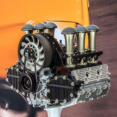 Along with the Luxemburg car, we also debuted our new velocity stack intake…