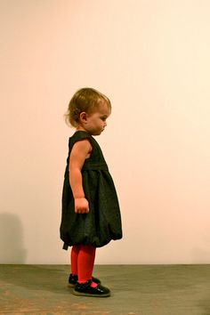 Oliver + S Bubble Dress in Chambray by Yes'm Creative, via Flickr