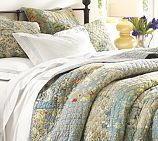 Every year Pottery Barn tortures me with beautiful bedding.......I need to win the lottery.