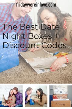 Make date night in fun again! An honest review of the top date night subscription boxes for couples   discount codes and deals so you can get a great deal! #fridaywereinlove