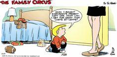 Family Circus Cartoon for Dec/23/2012