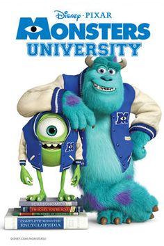 Monsters University - Disney / 20 de Junio