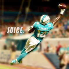 WR #14 JARVIS LANDRY MIAMI DOLPHINS