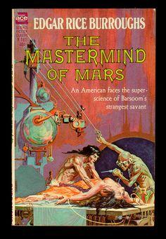 ROY G. KRENKEL JR. - art for The Mastermind of Mars by Edgar Rice Burroughs - 1963 Ace Books