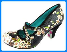 Irregular Choice Candy Whistle, Damen Candy Whistle , Schwarz for sale Irregular Choice, Pumps, Partner, Girly Things, Mary Janes, Kitten Heels, Flats, Shoe Bag, Leather