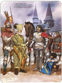 Vassal : In medieval Europe, a lord who was granted land in exchange for service and loyalty to a greater god Medieval World, Medieval Knight, Medieval Armor, Medieval Times, Renaissance Era, Early Middle Ages, Historical Art, Dark Ages, 15th Century
