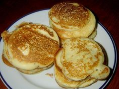 7_recept-na-livance Kefir, Pancakes, Sweets, Breakfast, Desserts, Naan, Recipes, Scrappy Quilts, Food Items