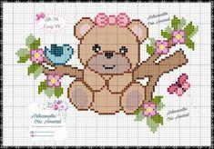 Coisinhas da Renata Cross Stitch Letters, Cute Cross Stitch, Cross Stitch Borders, Cross Stitch Charts, Cross Stitch Designs, Cross Stitching, Cross Stitch Embroidery, Hand Embroidery, Cross Stitch Pattern Maker