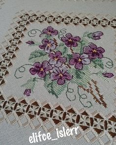 No photo description. Hardanger Embroidery, Learn Embroidery, Embroidery Stitches, Hand Embroidery, Embroidery Designs, Shuttle Tatting Patterns, Lace Bracelet, Victorian Lace, Needle Tatting