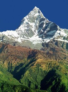 Annapurna in Nepal Nepal, Places Around The World, Around The Worlds, Beautiful World, Beautiful Places, Monte Everest, Himalaya, Escalade, Photos Voyages
