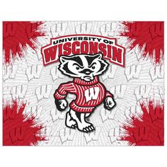 Svg Dxf Studio Wisconsin Bucky Badger Scalable Vector