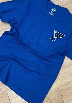 47 St Louis Blues Blue Line Up Backer Short Sleeve T Shirt - 48004476 Short Sleeve Tee, Short Sleeves, St Louis Blues, Blue Line, Blue Shorts, Lineup, Long Live, Tees, Pride
