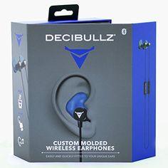 Decibullz Molded Wireless Bluetooth Noise Isolation In-Ear Headphones – Blue http://www.findcheapwireless.com/decibullz-molded-wireless-bluetooth-noise-isolation-in-ear-headphones-blue/
