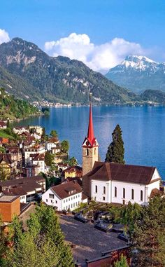 From the Alps to Lake Lucerne #nature #beautiful #place #nice #good #travel #picoftheday #loveit #seraph #seraphstore  www.seraphstore.com