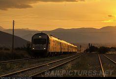 RailPictures.Net Photo: 520/258 OSE Hellenic Railways Organization AEG at Lamia central Greece, Greece by Kostas Kakavas