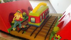 Subway Surfers Cake