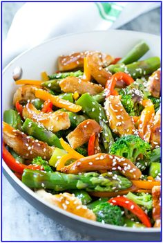 63 healthy vegetarian recipes for lunch #healthy #vegetarian #recipes #for #lunch Please Click Link To Find More Reference,,, ENJOY!! Stir Fry Recipes, Lunch Recipes, Healthy Dinner Recipes, Vegetarian Recipes, Thai Recipes, Cooking Recipes, Healthy Teriyaki Chicken, Teriyaki Stir Fry, Barbecue Chicken