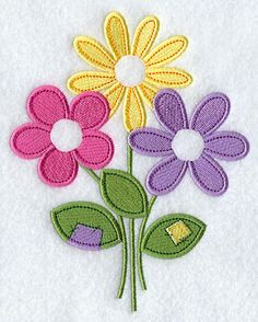 Vintage Embroidery Patterns Machine Embroidery Designs at Embroidery Library! Hand Embroidery Tutorial, Embroidery Flowers Pattern, Embroidery Transfers, Learn Embroidery, Applique Patterns, Vintage Embroidery, Embroidery Applique, Leather Embroidery, Embroidery Jewelry