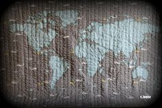 World map quilt pattern pinterest map quilt patterns and etsy gumiabroncs Image collections