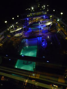 The pool area of the Majesty of the Seas