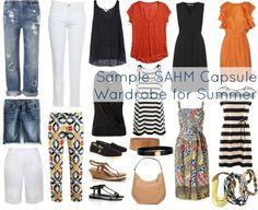 Wardrobe Oxygen: Sample SAHM Capsule Wardrobe for Summer