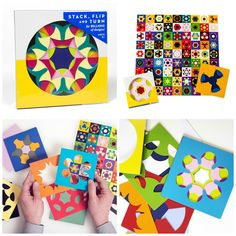 Madame Coquette: new in / Kaleidograph Paper Folding, Paper Design, Book Art, Flora, Playing Cards, Paper Crafts, Education, Games, Toys
