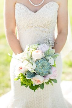 Whimsical spring and summer wedding ideas | Photo by Robyn Van Dyke | Read more - http://www.100layercake.com/blog/?p=76949