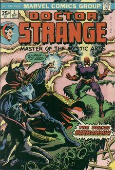 Doctor Strange Vol. 2 # 3 by Frank Brunner