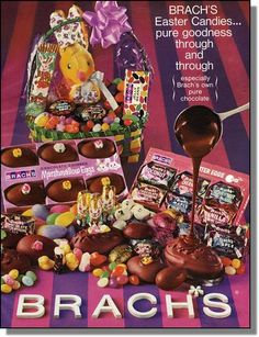 Brachs candy ads | brachs easter candy vintage - Google Search