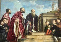 La Familia Vendramin - Tiziano (1550). National Portrait Gallery