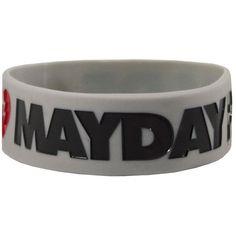 Mayday Parade Logo Wristband