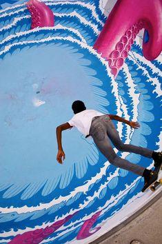 Urban Street Art - Octopus Skate Pool: Switzerland (4 pics + video) - My Modern Metropolis