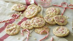 White Chocolate Peppermint Cookies | Preppy Kitchen