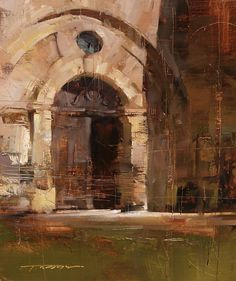 Tibor Nagy - Green Influence..the composition has a neat blocky feel to it which makes for viewer interest. Fine work