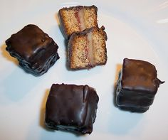 Original and Authentic German Recipes. Dominosteine or Domino cubes are traditional German Christmas cookies.