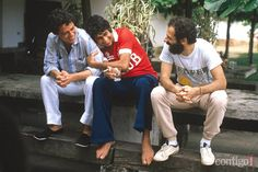 Chico Buarque, Fagner e João Bosco