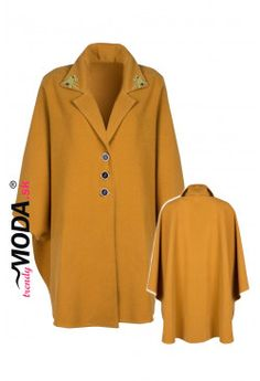 Pelerína s aplikáciou ZP59 Blouse, Long Sleeve, Sleeves, Sweaters, Women, Fashion, Moda, Full Sleeves, Pullover