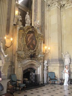 Castle Howard Great Hall Fireplace | Flickr - Photo Sharing!