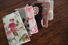 pretty floral wrapping paper
