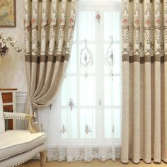 Clássico janela cortina blecaute, # LR-kaerkasong terminou quarto cortinas cortinas cortinas de janela do jacquard para sala de estar