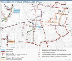 El Ayuntamiento plantea que la calle Capitulares sea peatonal del todo