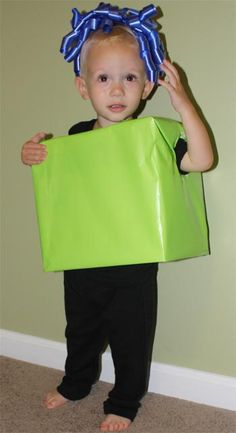 Present costume idea for holiday parade - each girl wraps or decorates her own box and marches as a present. Bonus: reinforces use resources wisely!