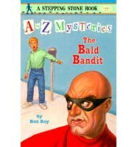 The Case of the Bald Bandit By Ron Roy/Publisher: Random House/Age: 6-9/ISBN13:9780679884491/Cover Type :Paperback/Retail Price HK$ 40.00/BookLodge Price:US$3.60/HK$28.00/The Green Lawn Savings Bank has been robbed! When a private detective comes to Dink's door looking for the kid who videotaped the crime, Dink and his friends volunteer to find him./Available at www.BookLodge.com - Lowest Priced English and Chinese Online Bookstore for Children and Parents Worldwide!
