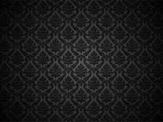 Black Damask Wallpaper black-is-my-favorite-color