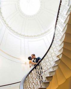 All White Joyous Newseum Wedding - United With Love Second Weddings, Dc Weddings, Simple Weddings, Wedding Story, Our Wedding, Wedding Venues, Wedding Photos, Kimpton Hotels, All White