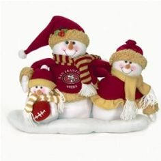Since I'm both a fan of Christmas and NFL football, I started finding my favorite team's Christmas Decorations. Well, my favorite team is the...