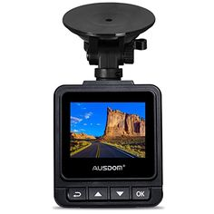 AUSDOM Dash Cam A261 1080P1296P Car Cmera Dvr with GPS GSensor WDR for Auto Record 2 Inch View Screen Auto Car Dashboard Camera * Check this awesome product by going to the link at the image. (This is an affiliate link) #DashCamGPS